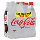 Coca cola light 6x50cl
