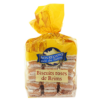 Biscuits roses de Reims Nos Regions ont du Talent 175g