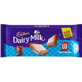 Cadbury Dairy Milk LU Biscuit Chocolate Bar (3 par paquet - 105g) - Paquet de 2
