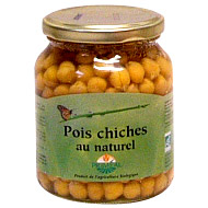 Pois Chiche au naturel, Bio