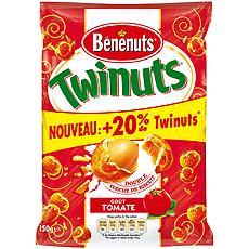 Cacahuetes enrobees tomate basilic Twinuts Benenuts st 150g