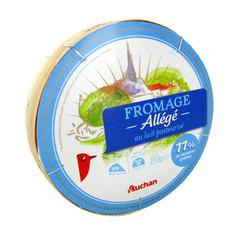 Auchan fromage all?g? 250g