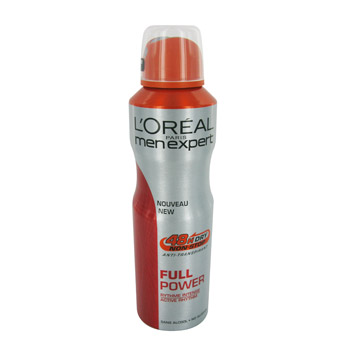Full Power, Anti-transpirant 48h, rythme intense, Dry Non St, la bombe de 200ml