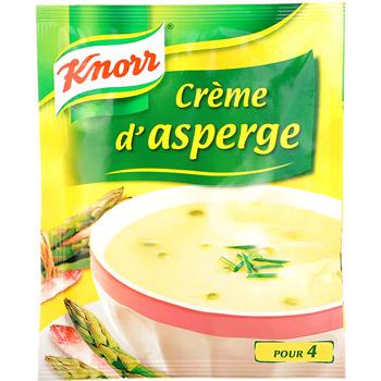 soupe creme d 39 asperges knorr tous les produits potages d shydrat s prixing. Black Bedroom Furniture Sets. Home Design Ideas