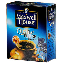 Cafe granules Maxwell House Decafeine filtre 45g