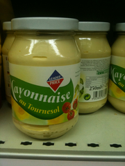 Mayonnaise au tournesol 250ml