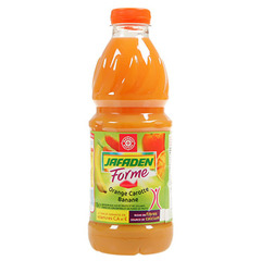Jus fruits Jafaden Forme Orange carotte banane 1l