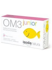 Super diet - Om3 junior - 60 capsules - Concentration, équilibre émotionnel