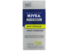 Soin visage anti fatigue Q10 NIVEA FOR MEN, 50ml