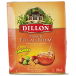 Dillon punch rhum blanc + jus orange goyave mangue 3l