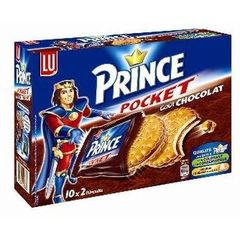 Biscuits Prince Lu Chocolat pocket 400g