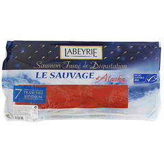 Saumon fume Labeyrie x7 tranches 200g
