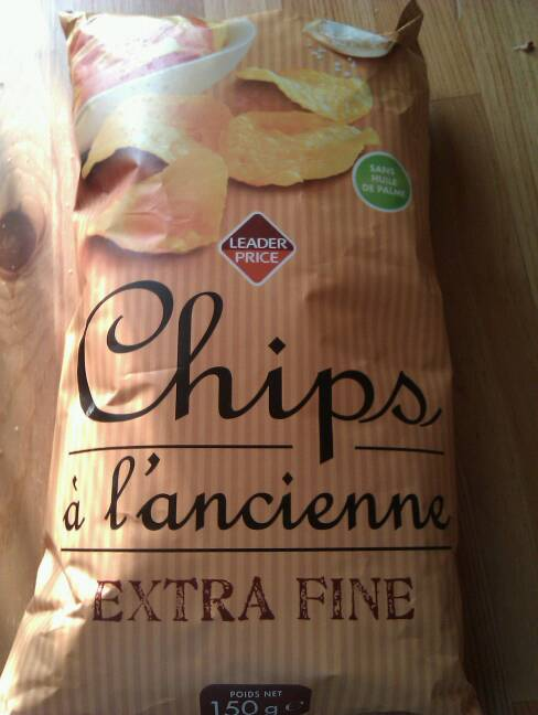 Chips à l'ancienne extra fines 150g