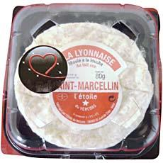 St Marcellin au lait cru affinage d'exception, 23%MG, 80g