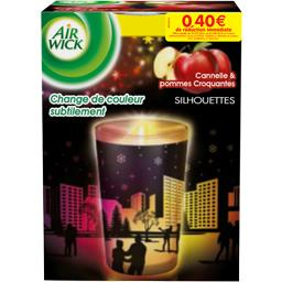 Air Wick, Colours of Nature - Bougie silhouettes cannelle/pommes rouges, la bougie