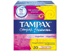 Tampax tampons Compak Freshness regulier x20