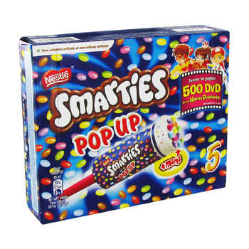 SMARTIES POP UP, 5x85ml