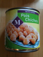 Pois chiches 400g