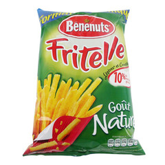 Fritelle - Biscuits go?t nature sal? Format economique.