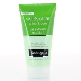 Gel exfoliant matifiant Shine & Pore Visibly Clear NEUTROGENA, tube de 150ml