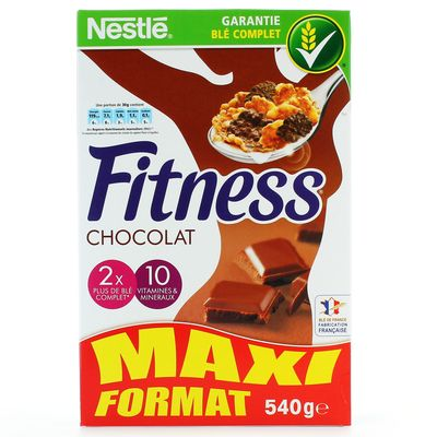 Cereales Nestle Fitness Chocolat 600g