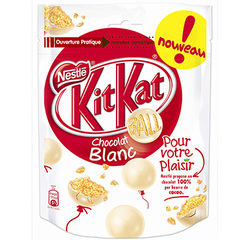 Kit Kat ball chocolat blanc 250g