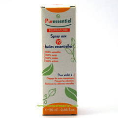 PURESSENTIEL 19 SPRAY RESPIRATOIRE 20ml