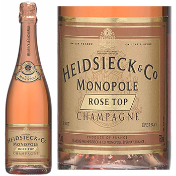 Champagne Rose Top Heidsieck&Co Monopole 75cl