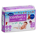 Auchan baby confort + change jumbo maxi 9/20kg x48 taille 4