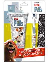 The Secret Life of Pets Coffret Brosse à Dents/Dentifrice