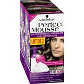 Coloration Perfect Mousse permanente 400 expresso givre 70% rembourses