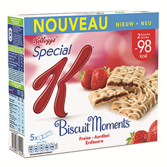 Kellogg's special k biscuit moments fraise 5x25g