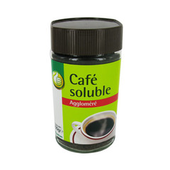 cafe soluble agglomere pouce 200g