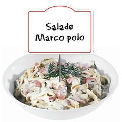 Salade Marco Polo, au rayon traditionnel, a la coupe
