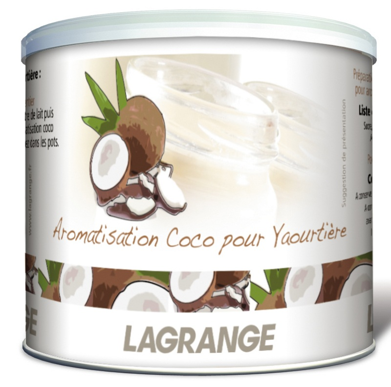 Aromes coco pour yaourtiere