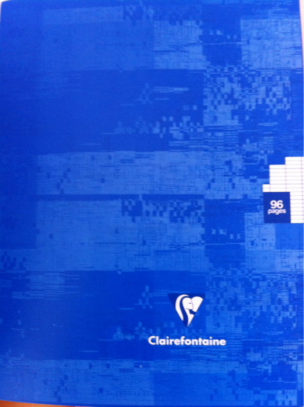 Cahier Clairefontaine 17x22 Gd carreaux 96 pages x1