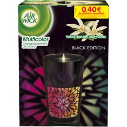 Bougie multicolor Air Wick Black edition vanille x1