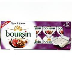 Boursin figue et 3 noix 10 portions 160g