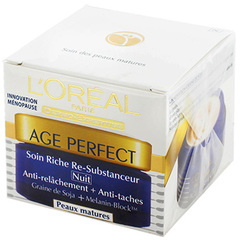 Soin nuit L'Oreal Age Perfect Collagen boost pot 50ml