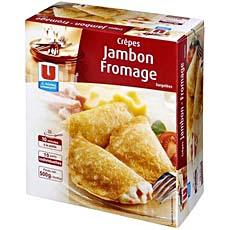 10 Crepes jambon fromage U, 500g
