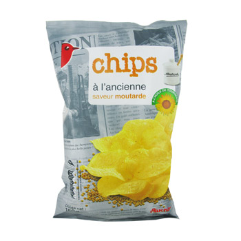 Chips a l'ancienne Saveur moutarde