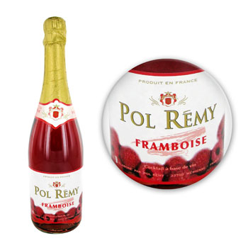 Mousseux Pol Remy Aromatise framboise 75cl