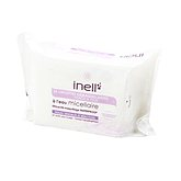 Lingettes démaquillantes Inell Eau micellaire x25