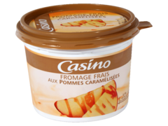 Fromage frais pomme caramelise