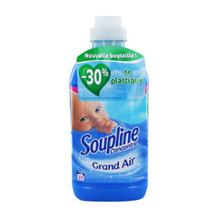 adoucissant concentre grand air soupline 750ml 27 doses