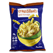 Auchan snacks croustillants goût emmental 90g