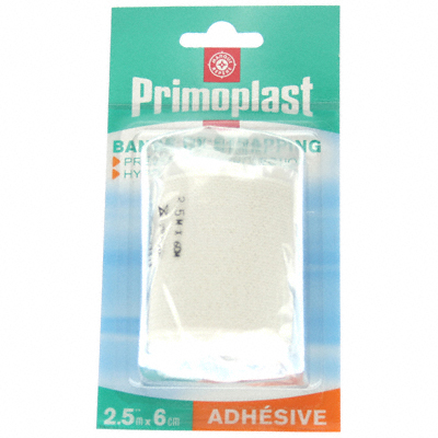 Bande strapping Primoplast Adhesive 2.5mx6cm