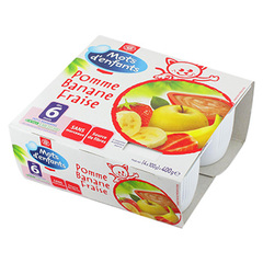 Compotes Pommes 6 mois 4x100g