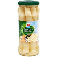 Tres grosses asperges blanches U, 320g