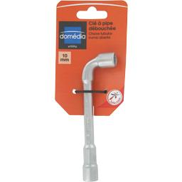 Domedia, Cle a pipe debouchee 10mm, la cle